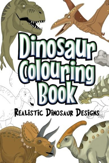 Dinosaur colouring gifts for boys UK